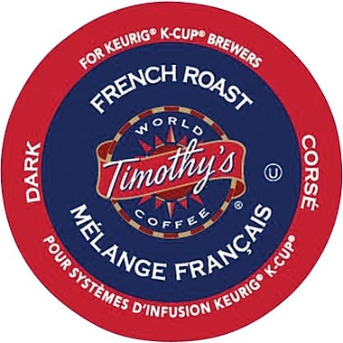 Keurig® Timothy's® French Roast, 24/Pack