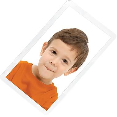 Swingline® - Pochettes de plastification GBC SelfSeal™ auto-adhésive, 2 3/8 po x 3 7/8 po, 8 mil, format portefeuille, paq./10