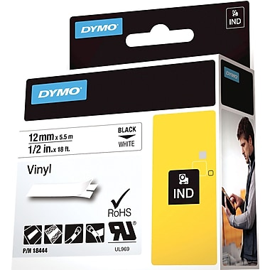 DYMO® Rhino Label Tape, 12mm (1/2
