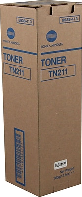 Konica Minolta TN-211 Black Toner Cartridge (8938-413)
