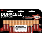 Duracell® Quantum AA Alkaline Battery, 20/Pack (QU AL AA20B2W)