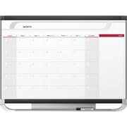 Quartet Prestige 2 4' X 3' Total Erase Surface Magnetic Monthly Calendar Board (CP43P2)