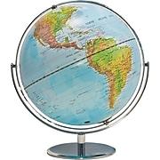 "Advantus 12"" Physical/Political World Globe, Blue Oceans"