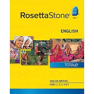 Rosetta Stone – Anglais (britannique), niveaux 1 à 5 pour Mac (1 à 2 utilisateurs) [Téléchargement]