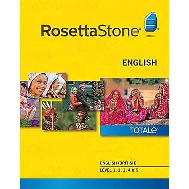 Rosetta Stone – Anglais (britannique), niveaux 1 à 5 pour Windows (1 à 2 utilisateurs) [Téléchargement]