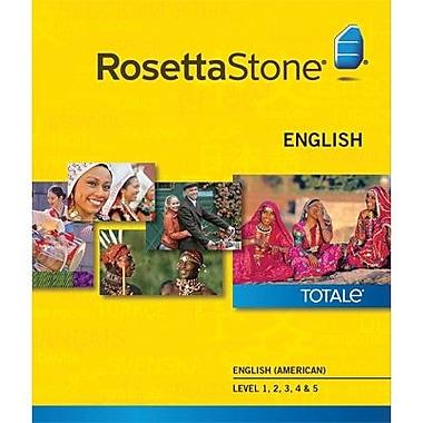 Rosetta Stone English (American) Level 1-5 Set for Mac (1-2 Users) [Download]
