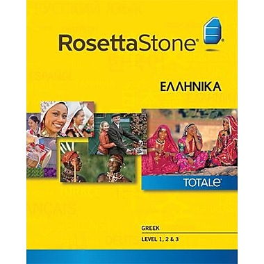 Rosetta Stone Greek Level 1-3 Set for Mac (1-2 Users) [Download]