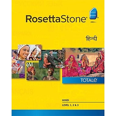 Rosetta Stone Hindi Level 1-3 Set for Mac (1-2 Users) [Download]