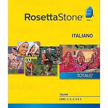 Rosetta Stone – Italien, niveaux 1 à 5 pour Windows (1 à 2 utilisateurs) [Téléchargement]