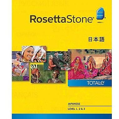 Rosetta Stone – Japonais, niveaux 1 à 3 pour Windows (1 à 2 utilisateurs) [Téléchargement]