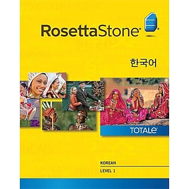 Rosetta Stone Korean Level 1 for Windows (1-2 Users) [Download]