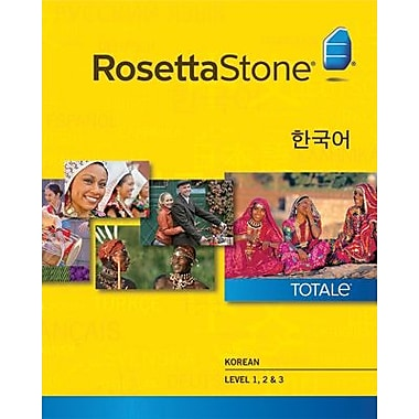 Rosetta Stone Korean Level 1-3 Set for Windows (1-2 Users) [Download]