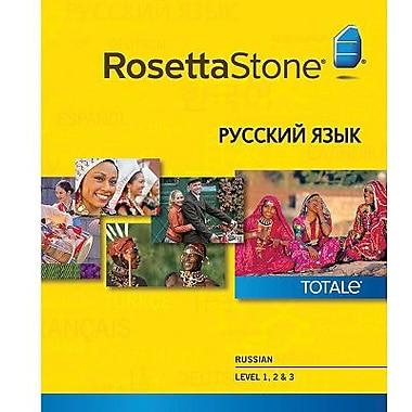 Rosetta Stone – Russe, niveaux 1 à 3 pour Windows (1 à 2 utilisateurs) [Téléchargement]