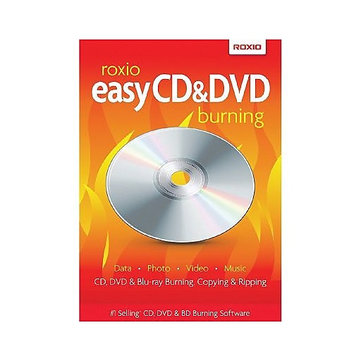 Roxio Easy CD & DVD Burning for Windows (1 User) [Download]