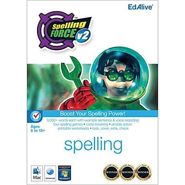 EdAlive Spelling Force v2 for Mac (1 User) [Download]
