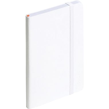Poppin Small Soft Cover Notebook, White (100014)
