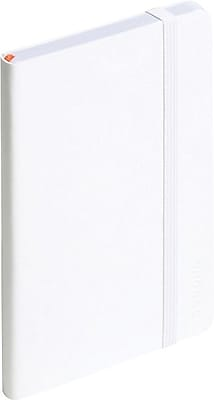 Poppin Soft Cover Notebooks, Small, White