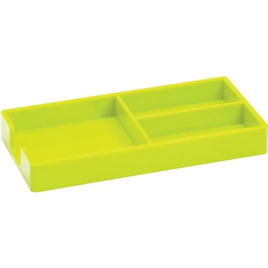 Poppin Bits + Bobs Tray, Lime Green, (100249)