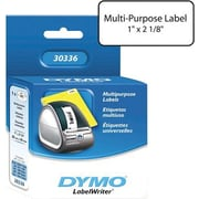 "DYMO® LabelWriter Multipurpose Labels, 1"" x 2-1/8"""