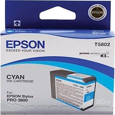 Epson® - Cartouche d'encre T580200 UltraChrome K3, cyan