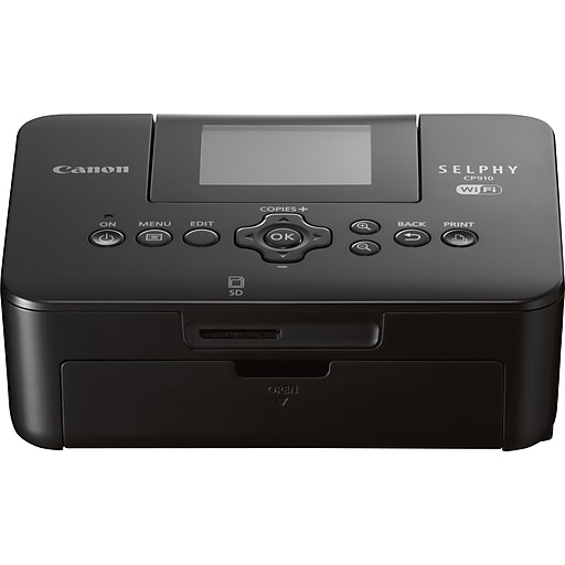Canon Selphy Cp910 Wireless Compact Photo Inkjet Printer Black