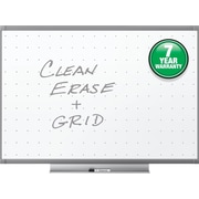 Quartet® Prestige® 2 Total Erase® Whiteboard, 3' x 2', Graphite Finish Frame (TE543GP2)