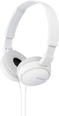 Sony MDRZX110 ZX Series Stereo Over Ear Headphones, White