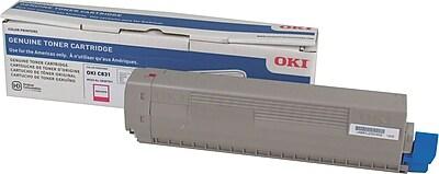 Okidata C831 Magenta Toner Cartridge (44844510)