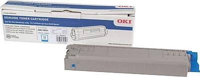 Okidata C831 Cyan Toner Cartridge (44844511)