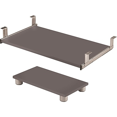 Bestar Connexion Collection Keyboard Shelf, Slate