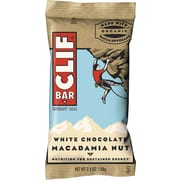 Clif® Bar White Chocolate Macadamia Nut Energy Bar , 2.4oz. , 12/Box