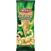 Emerald® Snack Nuts, Cashews, Tube Nuts, 1.25 oz, 12/Box