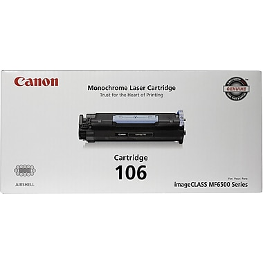 Canon® 106 Black Toner Cartridge (0264B001)