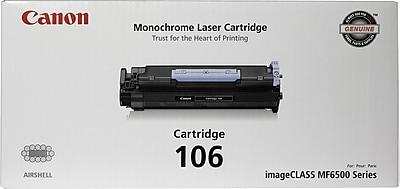 Canon 106 Black Toner Cartridge (0264B001AA)