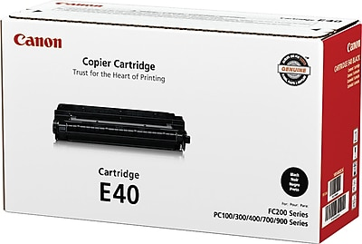 Canon E40 Black Toner Cartridge (1491A002), High Yield