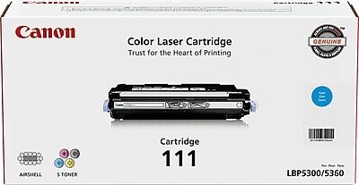Canon® 111 (1659B001BA) Cyan Laser Toner Cartridge