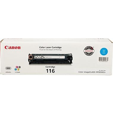 Canon® – Cartouche de toner cyan, 116 (1979B001)