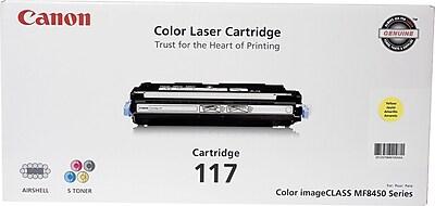 Canon 117 Yellow Toner Cartridge (2575B001AA)