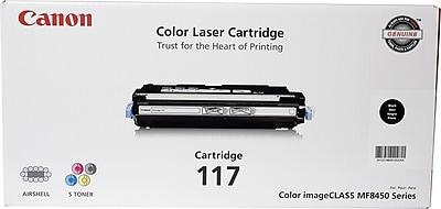 Canon 117 Black Toner Cartridge (2578B001AA)