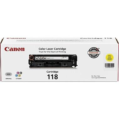 Canon 118 Yellow Toner Cartridge (2659B001AA)