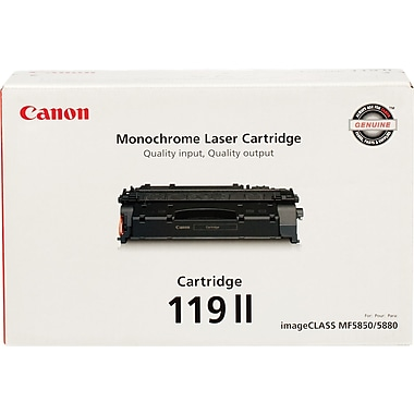 Canon® 119 Black Toner Cartridge II (3480B001), High Yield