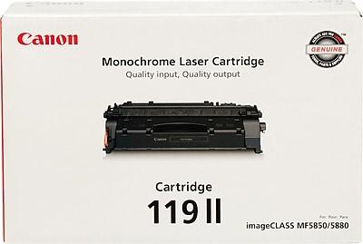 Canon 119 II Black Toner Cartridge (3480B001), High Yield
