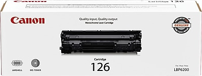 Canon 126 Black Toner Cartridge (3483B001)