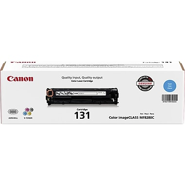 Canon® – Cartouche de toner cyan 131 (6271B001)