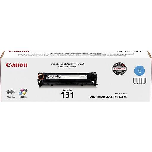 Canon 131 Cyan Toner Cartridge, Standard (6271B001AA)