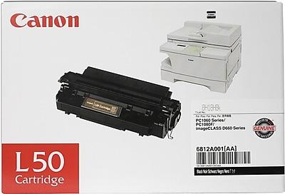 Canon L50 Black Toner Cartridge (6812A001AA)