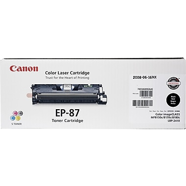 Canon EP-87BK Black Toner Cartridge (7433A005AA)