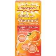 Emergen-C® – Supplément de vitamines et minéraux, Super Orange, paq./30