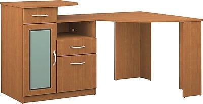 Bush Furniture Vantage Corner Desk Light Dragon wood HM66315A03