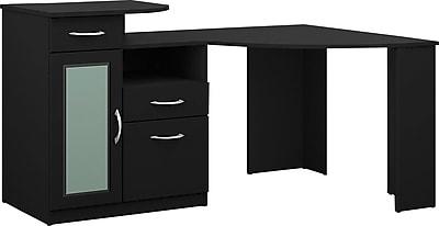 Bush Furniture Vantage 48W Corner Desk, Black